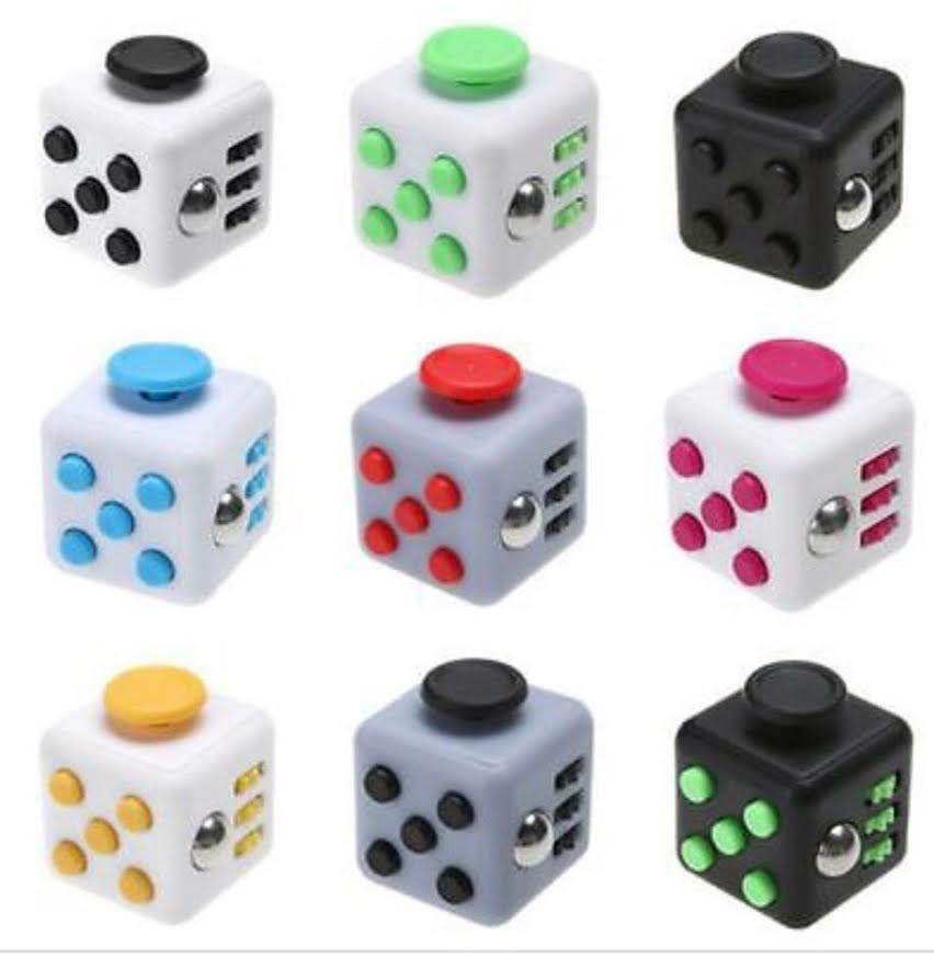 10 pack- Magic Fidget Cube 10FC