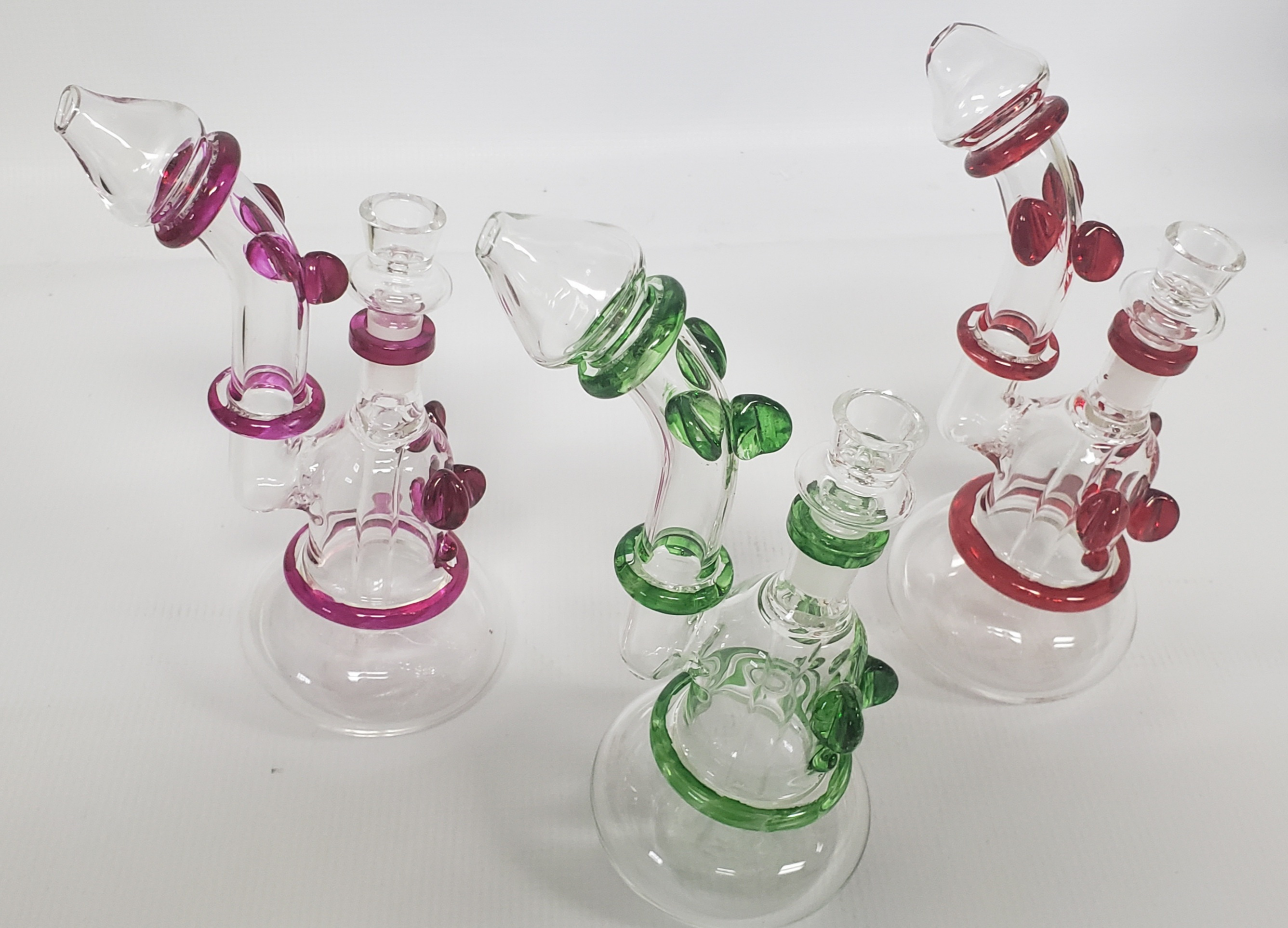 "*8"" colorful Bubbler Water Pipe #WP106"