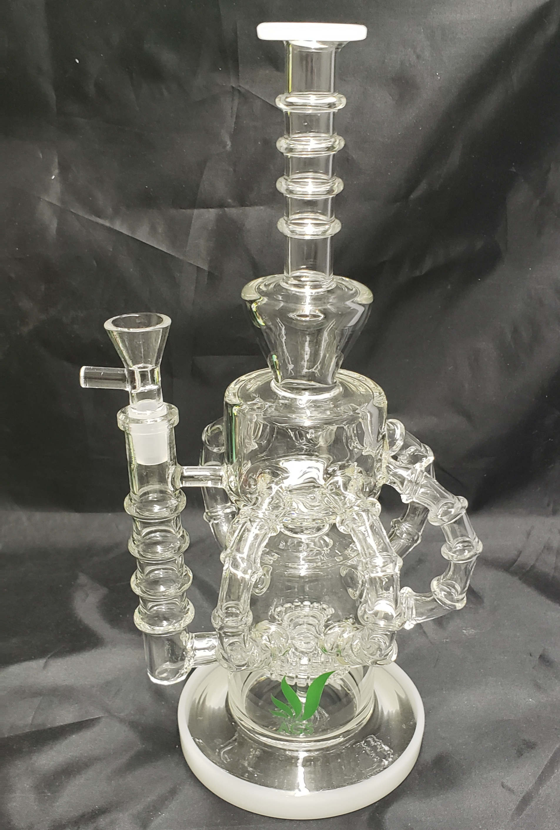 "*12"" AGS Recycler Water Pipe-New #WP01"