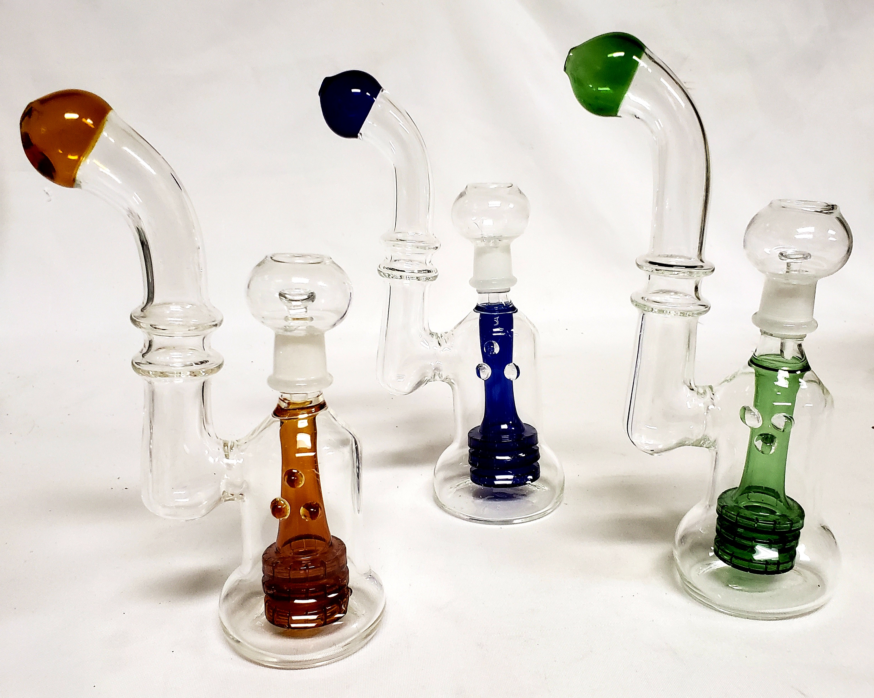 "*8""-9"" New Oil Bubblers with Dome & Nail #OB1"