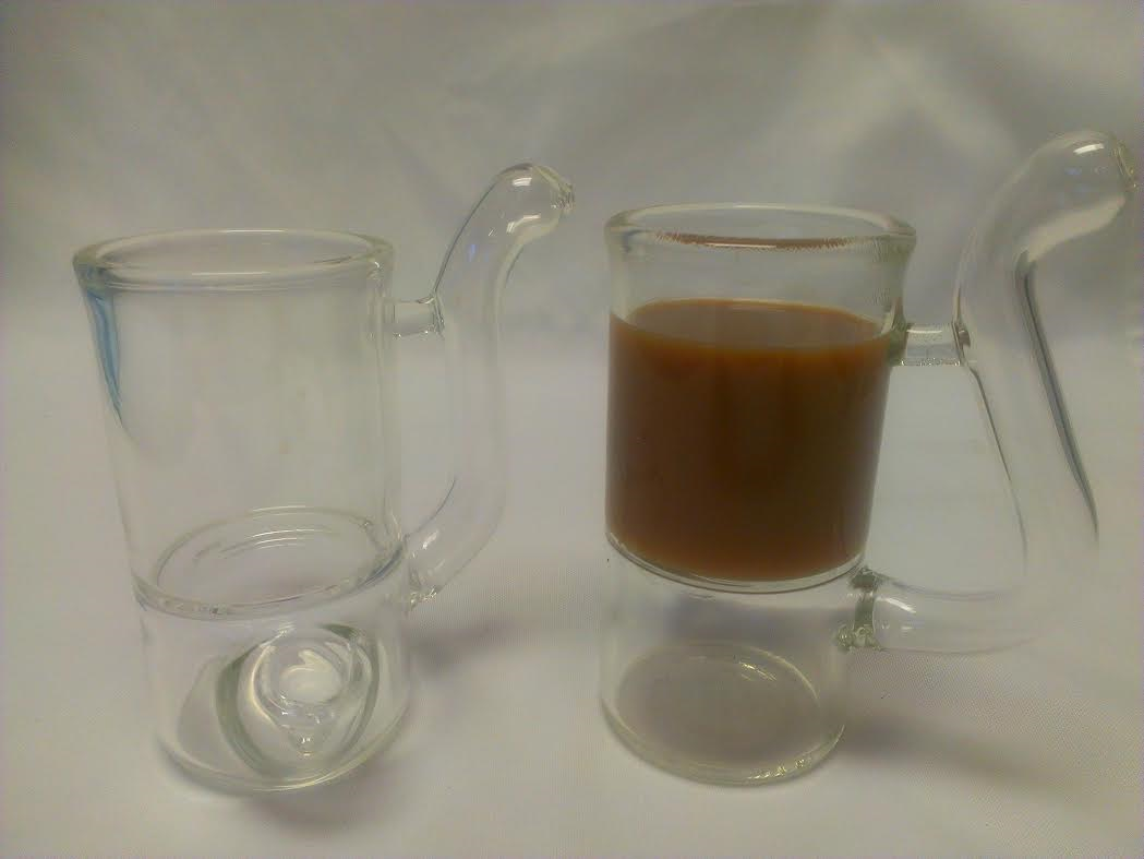 "*6"" hot or cold Beverage Cup Smoking Pipe-#6HC"
