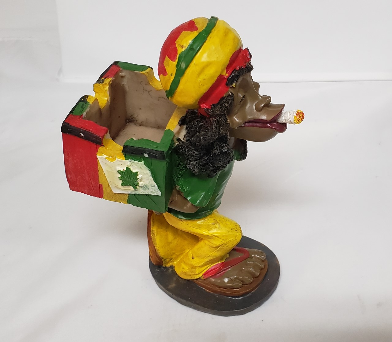 Polyresin Jamaican Ashtray JA10