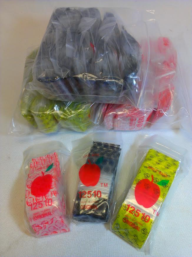"Mini Zip Lock Bags 1.25"" X 1.00"" (1000 Pack) #ZB5"