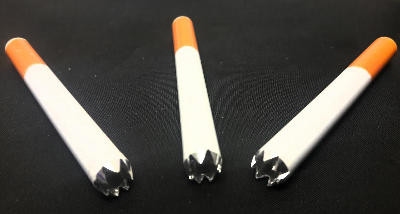 "*Large 3"" Teeth Metal Cigarette LMCT"