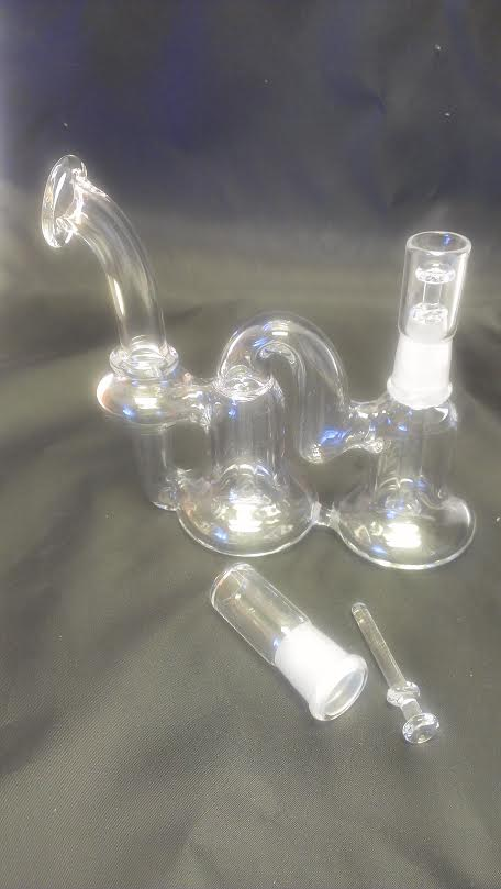 Recycle Double Chamber Oil Bubbler OB10