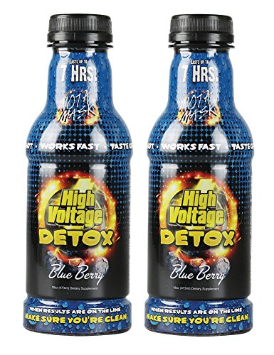 High Voltage-16 OZ. Liquid Detox-Blue Berry #HVB