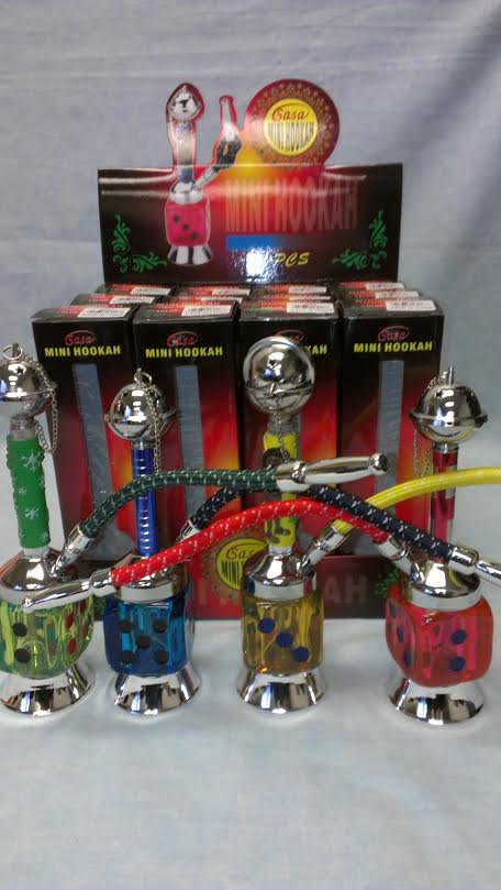 Mini Hookahs/Dice Shape-Mix Colors HK17