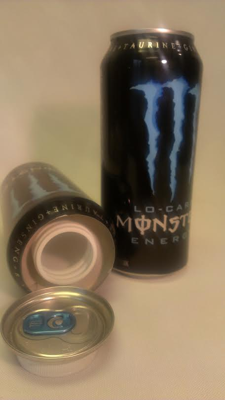 Monster Blue Safe Can #MBSC