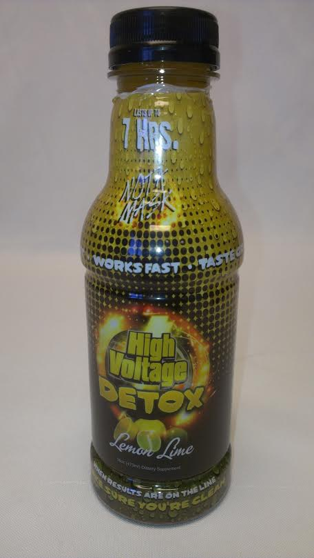 High Voltage-16 OZ. Liquid Detox-Lemon Lime #HVL