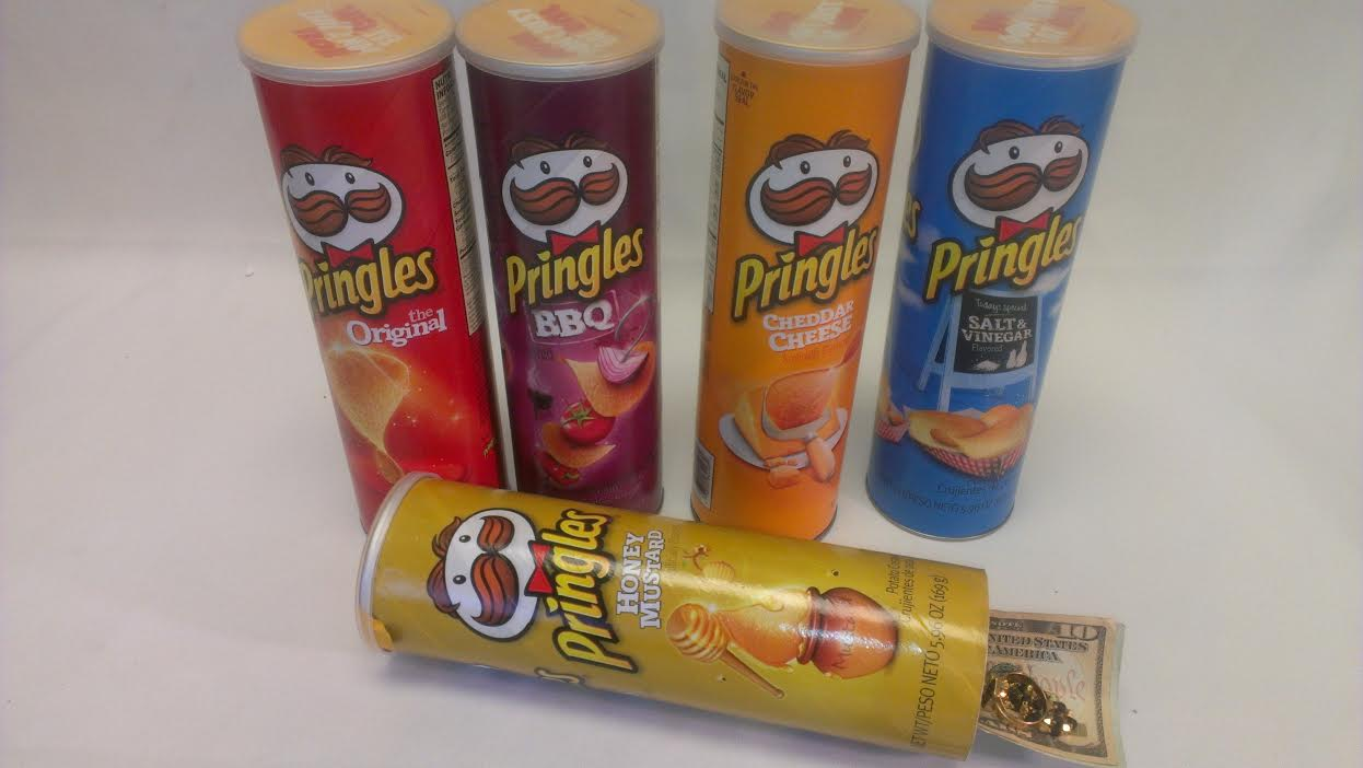 Pringles Assorted Safe Cans PSC