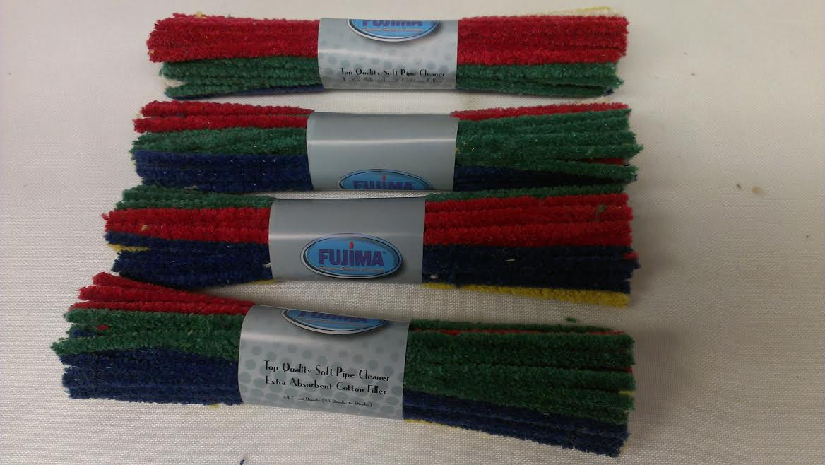 "Fujima 6"" Soft Pipe Cleaner-44pc. in a bundle FPD2"
