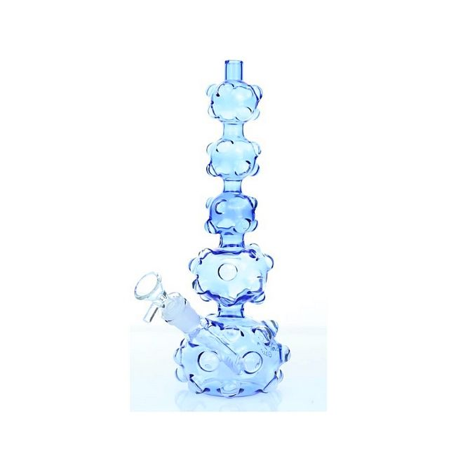 "*11""-5mm THICK SMOQ GLASS FOLLIC 5STAGE VERIBOO DESIGN WATERPIPE"