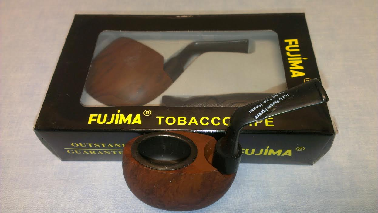Mini Wooden Tobacco Pipe w/pouch WP104
