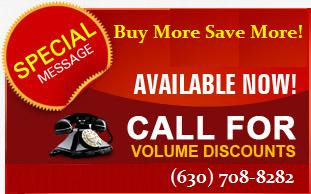 Call For Volume Discounts