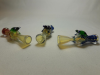 "*3""-3.5""-New  I/O Chillum with Frog on top CHF"