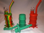 "*8.5""-Silicone Bubbler Set SWP3"