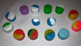 10 Pack- Silicone container-Small round 2ml $5.99 #10SJ8