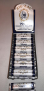 12 ct. Display-70mm Zig-Zag Cigarette Rollers CM17