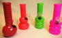 "10 Pack-6"" Assorted Fancy design Mini Bongs #10WP8"