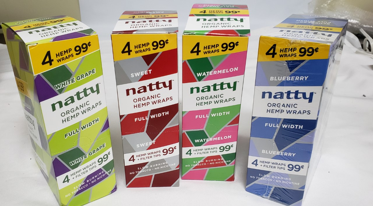 *Hemp Wraps-Natty 4 for $0.99/15 Packs #NHW