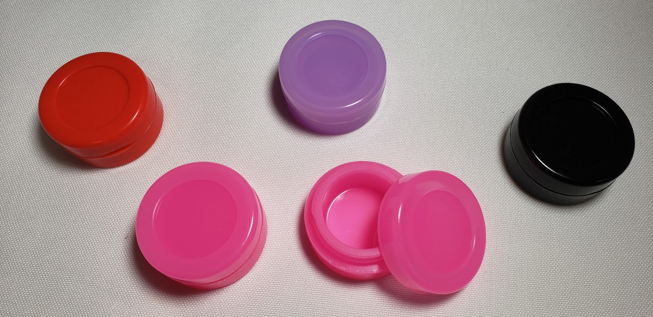 "1.5"" Silicone containers  SJ2"