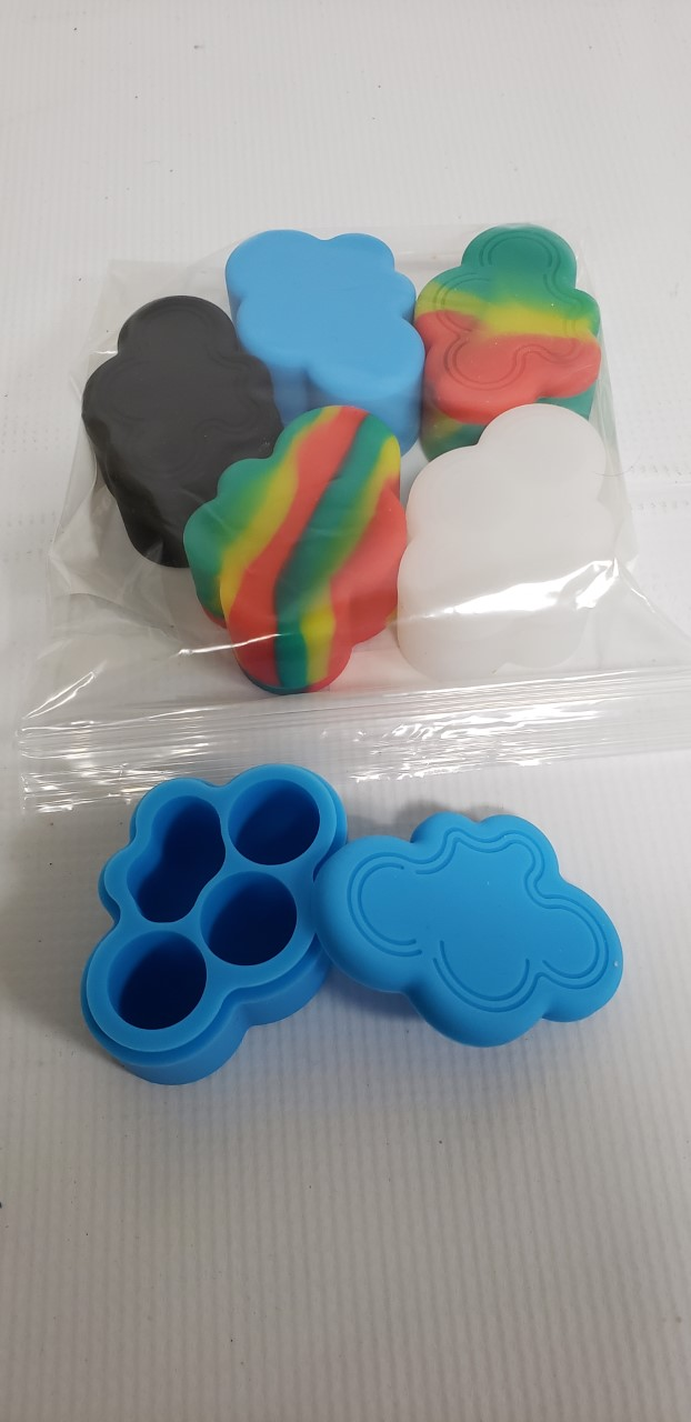 *Silicone Small Cloud Container 22ml-6S1