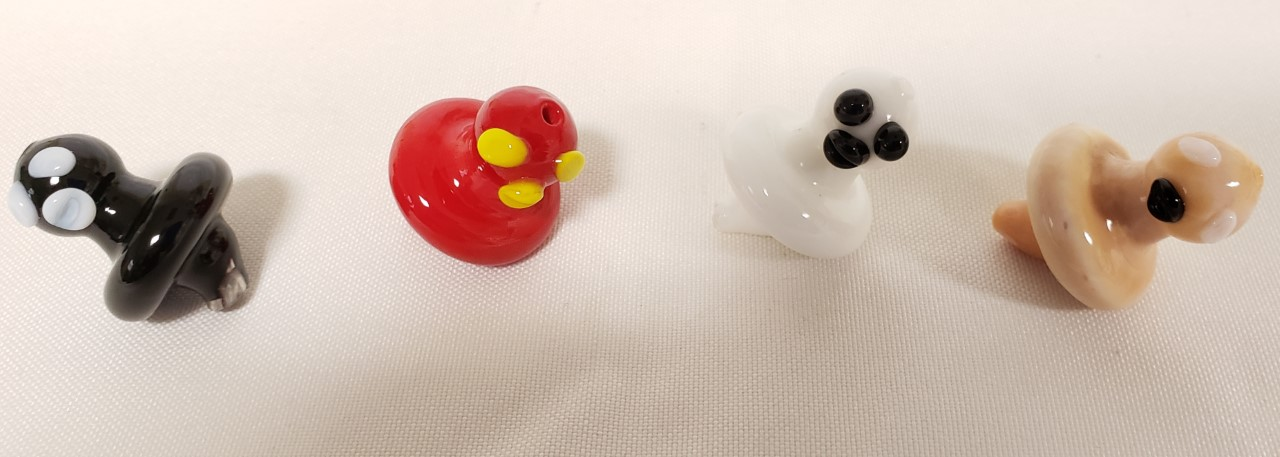 *Carb Caps-4 PACK 26mm- Ghost Duck-Assorted #GA823