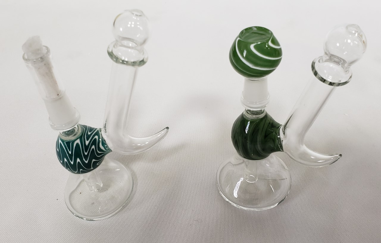 2 piece Oil Bubbler with Dome & Nail #OB21